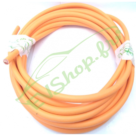 25mm² orange shielded cable