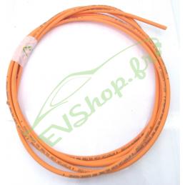 4mm² câble blindé orange