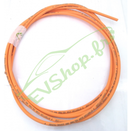 6mm² orange shielded cable