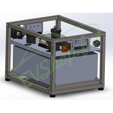 Off-Grid survival kit 4kWh 3kVA